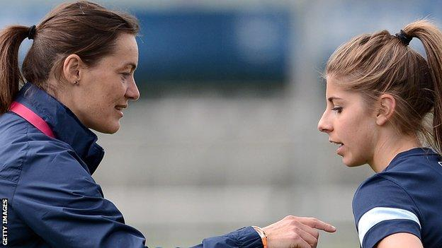 New Clermont manager Corinne Diacre