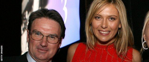 Jimmy Connors & Maria Sharapova