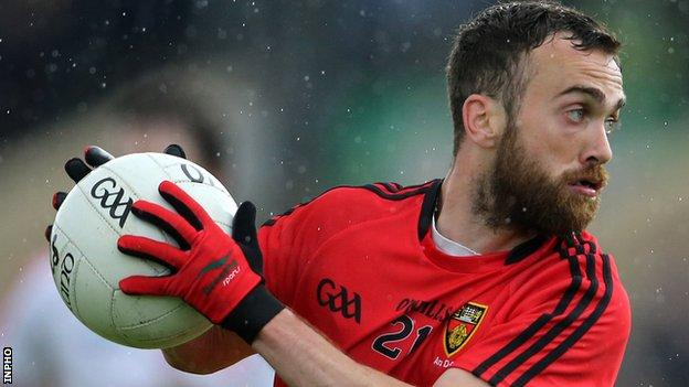 Conor Laverty starred in Down's win over Leitrim in Newry