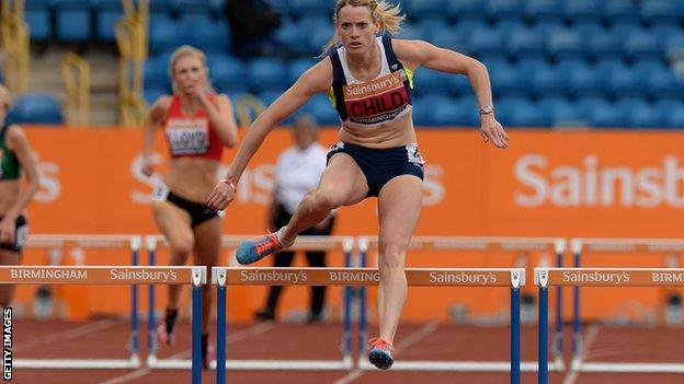 Eilidh Child has secured a spot at the European Championships thanks to her triumph in Birmingham