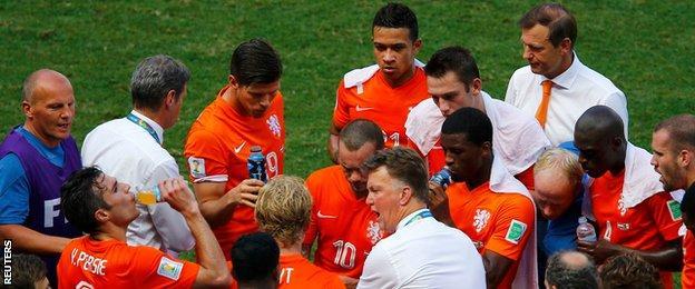 Netherlands v Mexico - Louis van Gaal