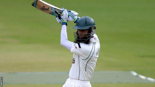 Worcestershire and England all-rounder Moeen Ali