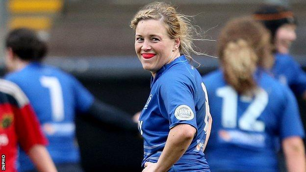 Leinster forward Sharon Lynch