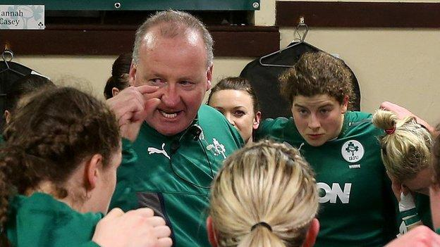 Philip Doyle guided Ireland to their first Grand Slam in 2013