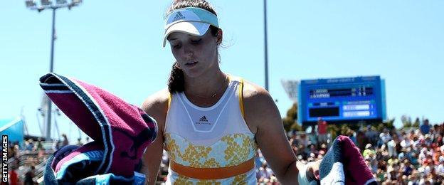 British tennis star Laura Robson