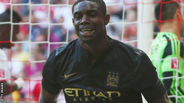 Micah Richards, Manchester City