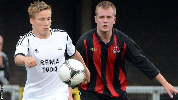 Crusaders played Rosenborg in the Europa League in 2012