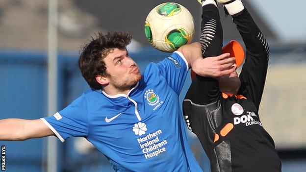 Philip Lowry joined Derry in May after five years with Linfield