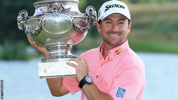 Graeme McDowell won the 2013 title by four shots