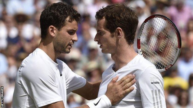 Grigor Dimitrov & Andy Murray