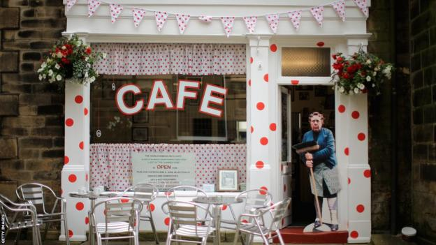 Sid's Cafe, Holmfirth