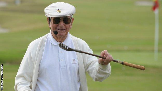 Samuel Henry 'Errie' Ball played in the inaugural Masters tournament with his friend Bobby Jones