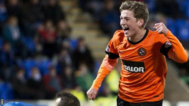 Ryan Gauld thanked Dundee united after signing for Sporting Lisbon