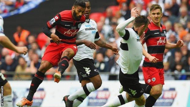 QPR defender Armand Traore