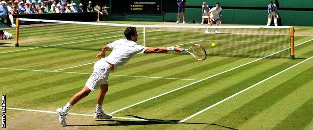 Grigor Dimitrov and Novak Djokovic
