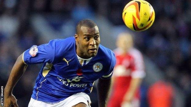 Leicester City captain Wes Morgan