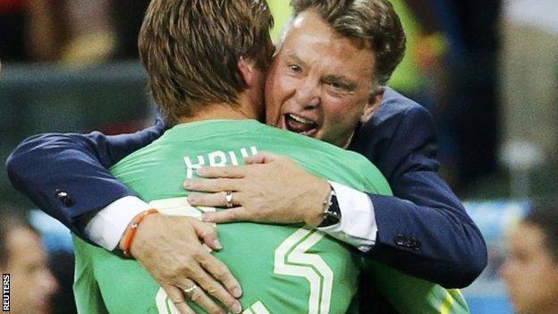 Tim Krul, Netherlands v Costa Rica, World Cup 2014