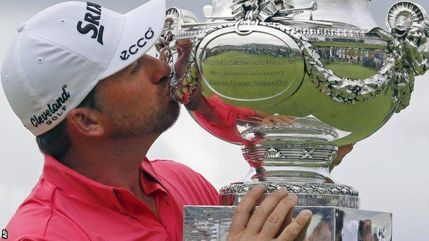 Graeme McDowell, winner of the French Open