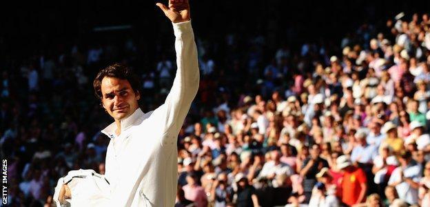 Wimbledon 2014: Roger Federer