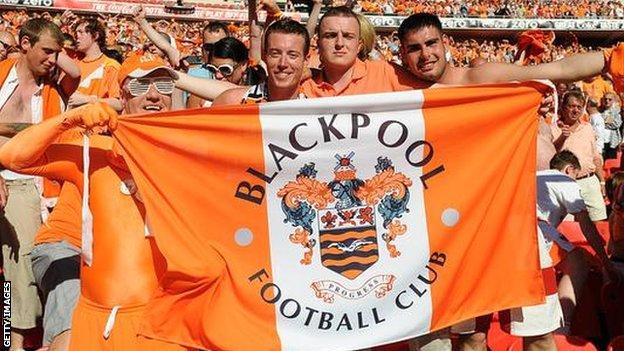 Blackpool FC fans
