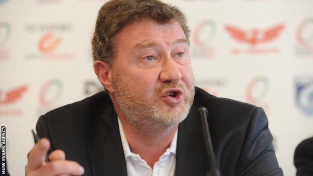 Regional Rugby Wales and Scarlets chairman Nigel Short