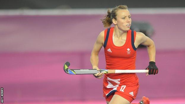 Former Great Britain and England hockey player Chloe Rogers