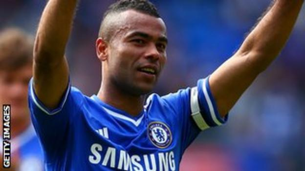 Former Chelsea and England defender Ashley Cole