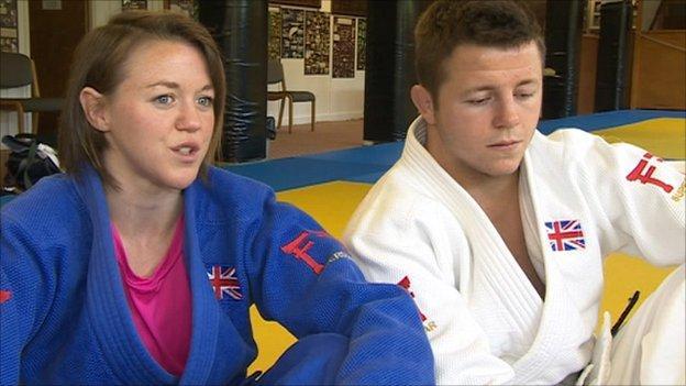 Megan and Ben Fletcher
