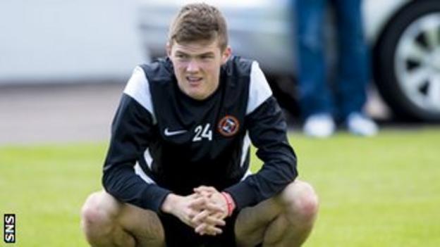 Dundee United defender Blair Spittal