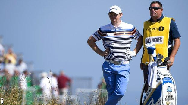 Stephen Gallacher says he is under no pressure ahead of the Scottish Open