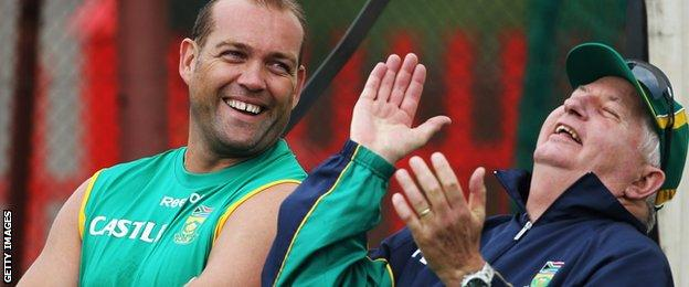 Jacques Kallis and Duncan Fletcher