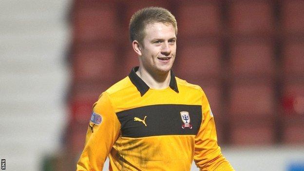 Scotland Under-21 goalkeeper Grant Adam