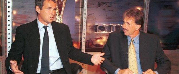Alan Hansen and Mark Lawrenson