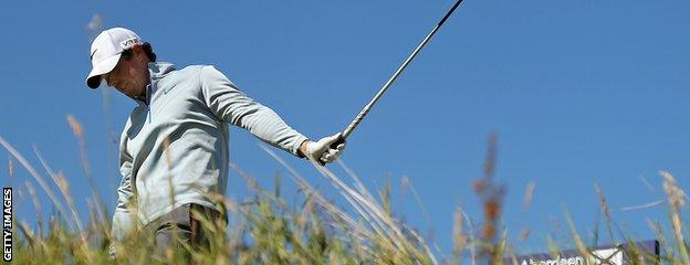 Rory McIlroy endured a nightmare second round at Royal Aberdeen and is now level par overall