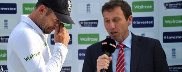 James Anderson interviewed by Michael Atherton