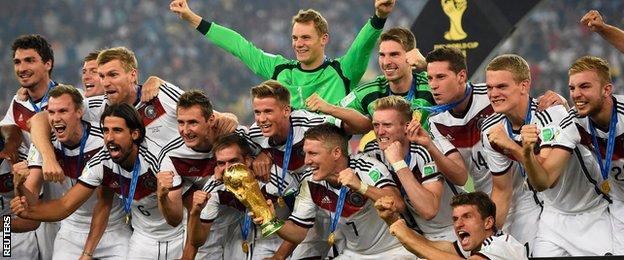 Germany win the 2014 World Cup