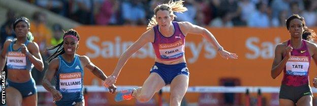 Eilidh Child in action