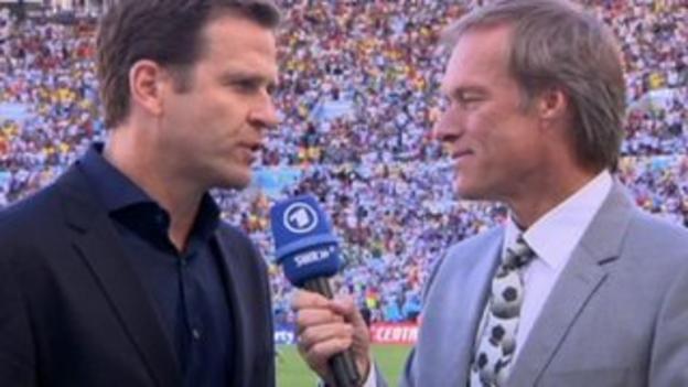 Oliver Bierhoff interviewed by Gerhard Delling