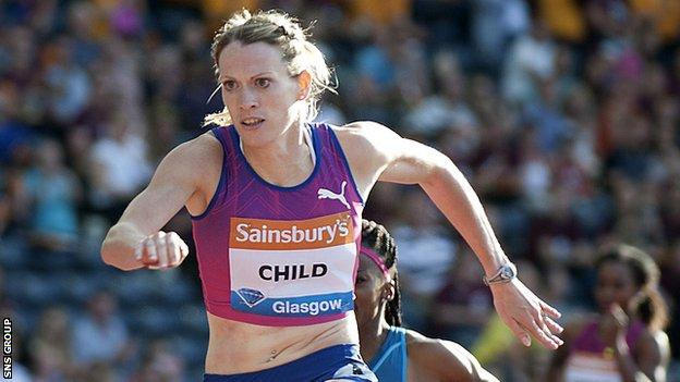 Eilidh Child is the leading European in her event this year