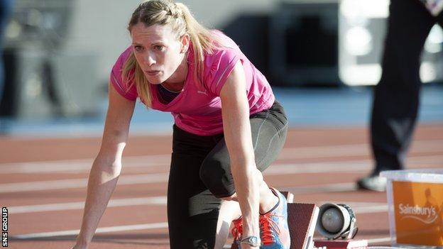 Eilidh Child is focused on success at the Commonwealth Games