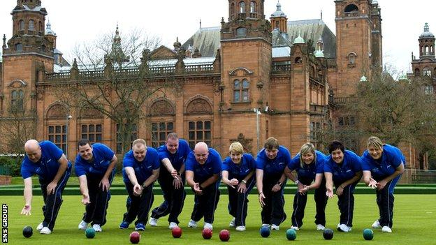 Scotland will have 10 bowlers battling it out on the lawns of Kelvingrove