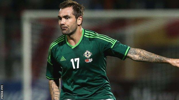 Jonny Steele has made three appearances for Northern Ireland