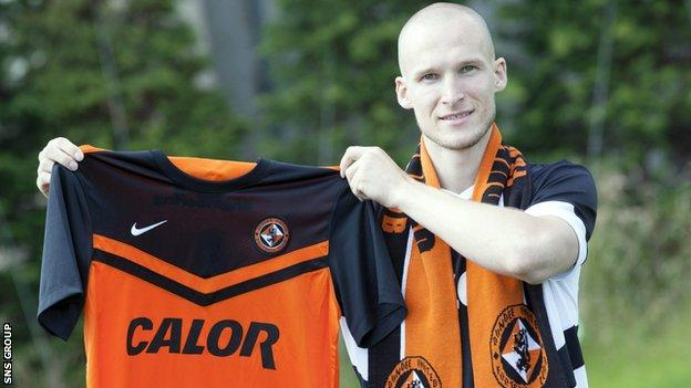 New Dundee United signing Jaroslaw Fojut was close to a move to Celtic in 2012