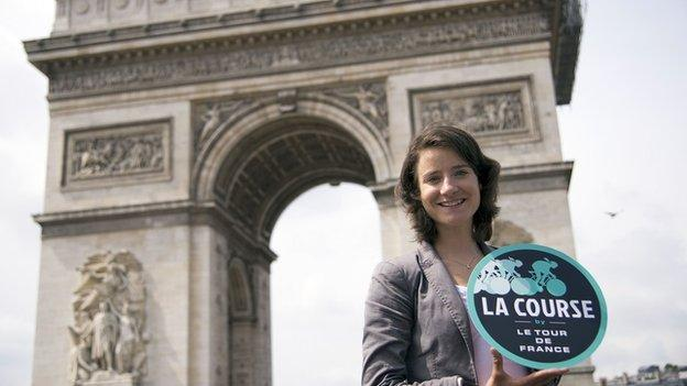 Marianne Vos will ride La Course