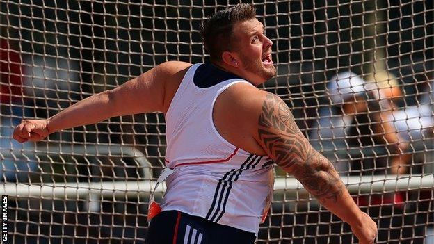 Wales captain Aled Sion Davies in action for Great Britain