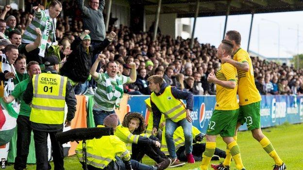 Callum McGregor scored late to give Celtic a 1-0 win over KR Reykjavik