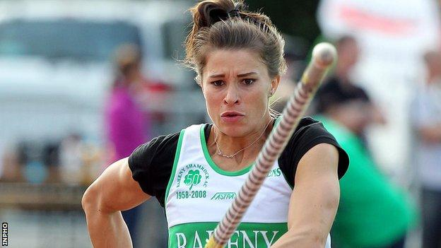 Zoe Brown was in fine form at the Welsh International meeting