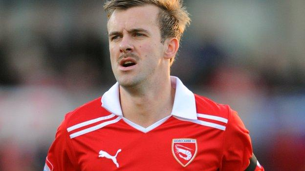 Morecambe Re Sign Laurence Wilson After Accrington Release
