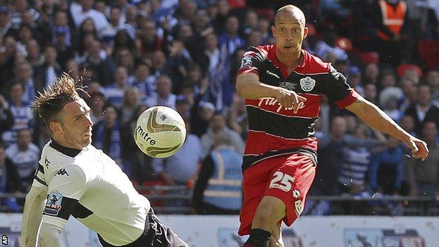 Bobby Zamora scores for QPR