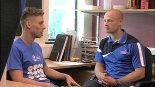 Ross Muir with Brown Ferguson